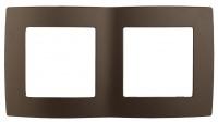 12-5002-13 Рамка ЭРА12, на 2 поста, бронза