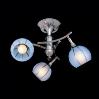 3353/3 / потолочный светильник хром/синий