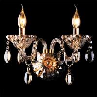 3162/2 / настенный светильник золото/тонированный хрусталь Strotskis