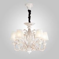 10001/5 / подвесной светильник белый с золотом