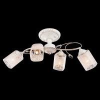 30053/4 / потолочный светильник белый с золотом
