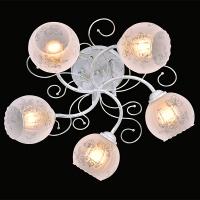 30056/5 / потолочный светильник белый с золотом