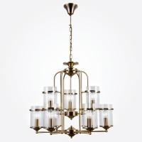 60040/9 / подвесной светильник античная бронза