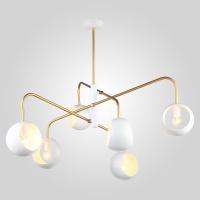 70055/6 / подвесной светильник белый