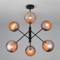 70057/6 / подвесной светильник перламутровое золото