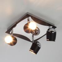 20057/4 / потолочный светильник хром/черный