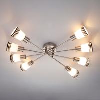 30132/8 / потолочный светильник сатин-никель
