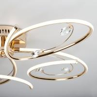 Светодиодный потолочный светильник Артикул: 90099/5 золото