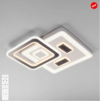 Потолочный светодиодный светильник с пультом управления 90156/1 белый