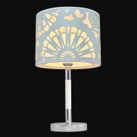 Настольная лампа Текстиль 5-6501-1-CR+WH E27