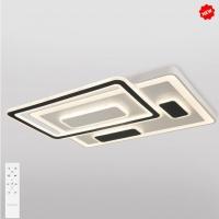 Потолочный светодиодный светильник с пультом управления 90156/2 белый