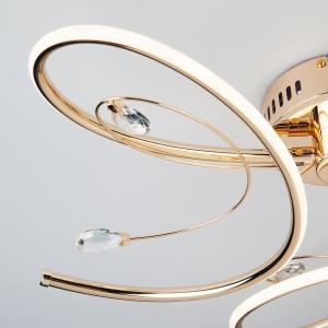 Светодиодный потолочный светильник Артикул: 90099/3 золото