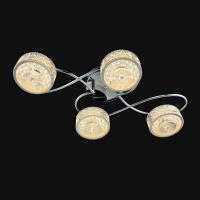 Люстра Геометрия 1-1697-4-CR Y LED