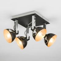 Потолочный светильник с поворотными плафонами Артикул: 20069/4 черный