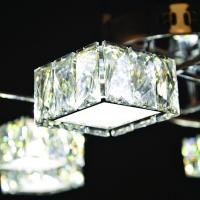 Люстра Геометрия 1-1692-8-CR Y LED