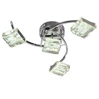 Люстра Геометрия 1-1663-4-CR Y LED