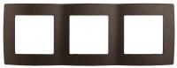 12-5003-13 Рамка ЭРА12, на 3 поста, бронза