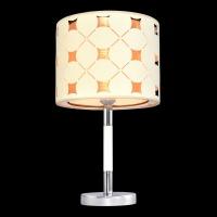 Настольная лампа Текстиль 5-6502-1-CR+WH E27