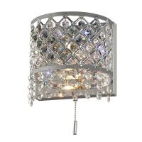 Бра Диамант 3-2501-2-CR-LED G4