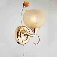 3457/1 / настенный светильник золото/желтый