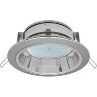 Светильник GX 53 с отражателем сатин