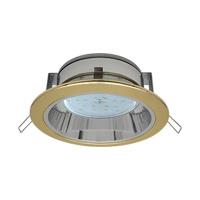 Светильник GX 53 с отражателем золото