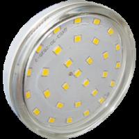 Лампа GX 53 светодиодная 6 Вт 3000К прозрачная
