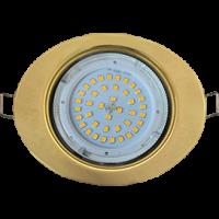 Светильник GX 53 Эллипс золото