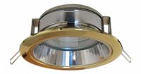 Светильник GX 70 с отражателем золото
