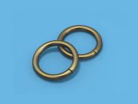 Кольцо металлическое (Антик)