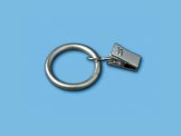 Кольцо металлическое с зажимом (Сатин)