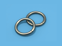 Кольцо металлическое (Сатин)