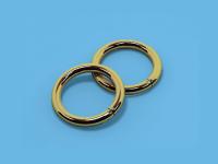Кольцо металлическое (Глянцевое золото)