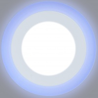 Светодиодный светильник LPL 6+3 синий, 4000К