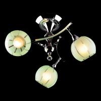 3353/3 / потолочный светильник хром/зеленый