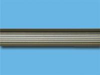 Труба металлическая рифленая 3 м (Антик)
