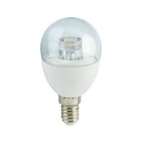 """Лампа Е14 """"Шар"""" 7 Вт (прозрачная) 2700К"""