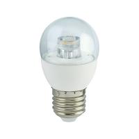 """Лампа Е27 """"Шар"""" 7 Вт (прозрачная) 2700К"""