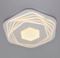 Светодиодный потолочный светильник с пультом управления  90153/6 белый