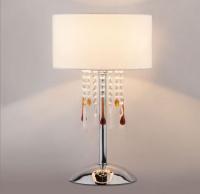 Настольная лампа с хрусталем  01097/1 Strotskis