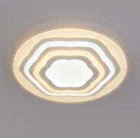 Светодиодный потолочный светильник с пультом управления  90117/4 белый