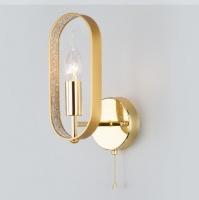 Настенный светильник   60077/1 золото