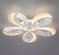 Светодиодный потолочный светильник с пультом управления  90140/5 белый