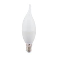 """Лампа Е14 """"Свеча на ветру"""" 7 Вт (матовая) 4200К"""