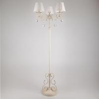 12075/3F / напольный светильник белый Strotskis
