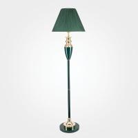 009 / напольный светильник W /1T GR арматура+колпак(зеленый)
