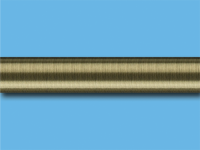 Труба металлическая гладкая 2 м (Антик)