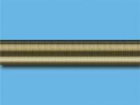 Труба металлическая гладкая 2,4 м (Антик)