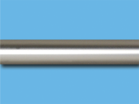 Труба металлическая гладкая 1,6 м (Сатин)