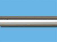 Труба металлическая гладкая 2,4 м (Сатин)